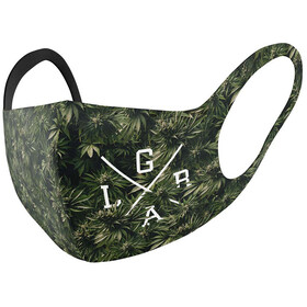 Loose Riders Face Mask, verde